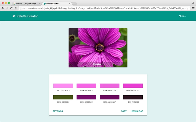 PaletteCreator-chrome-extension-for-designers-Imaginators