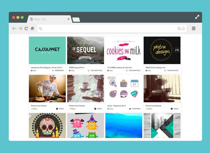 Piktab-chrome-extension-for-designers-Imaginators