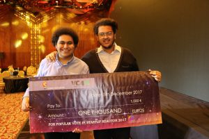 </h2><p>Moody Boles, Imaginators' CEO, with Amr Naguib, Imaginators' COO, at Startup Nova</p>